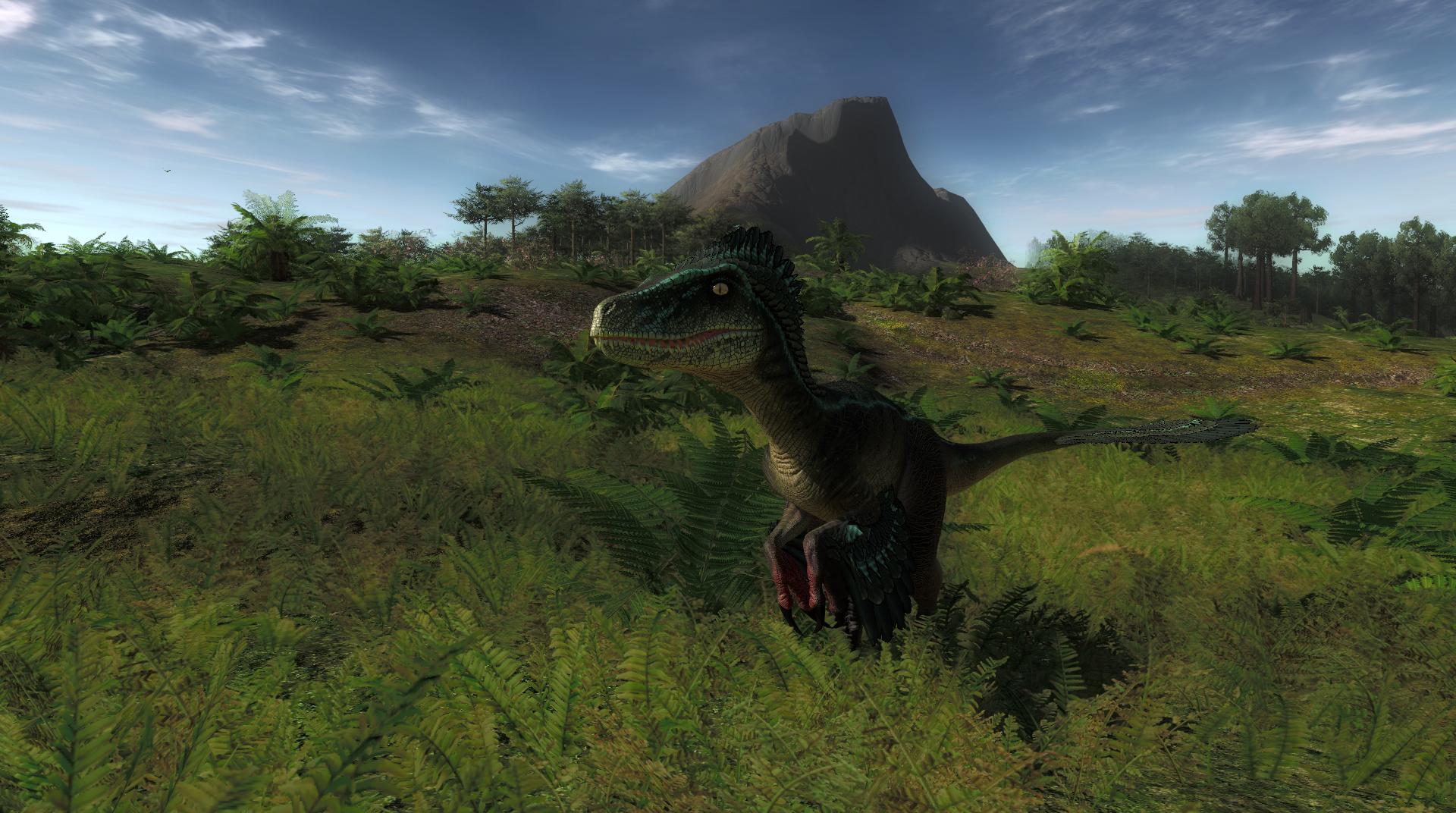Raccolta immagini e video del gioco in anteprima Utahraptor