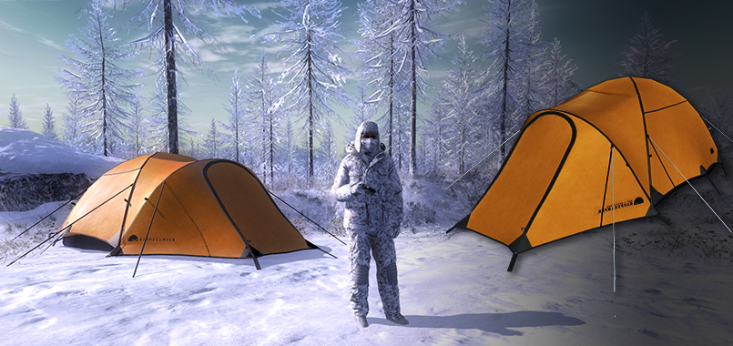 Heated Tent