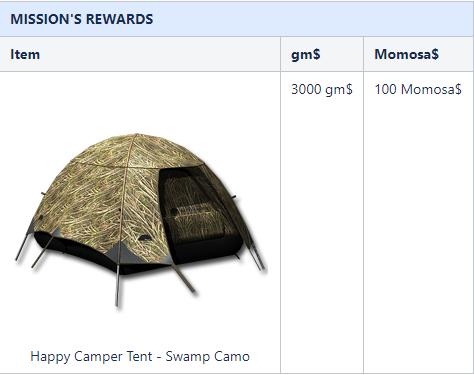 mission reward